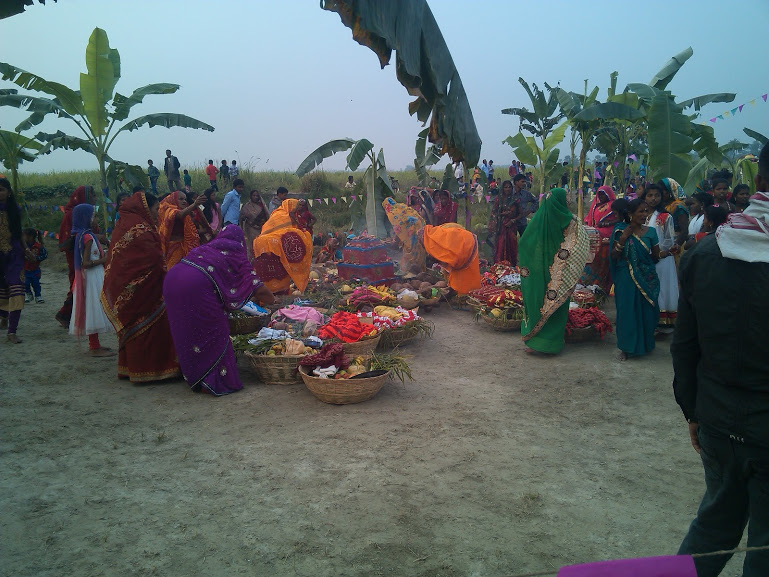 Chhath Puja at My Village